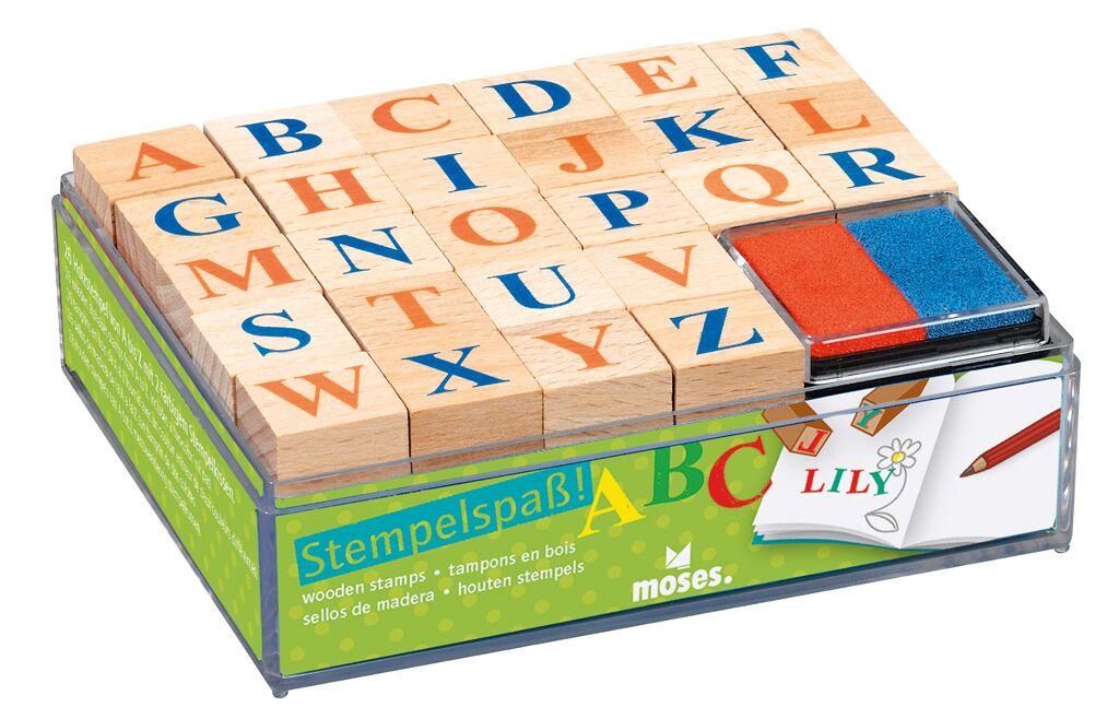 Alphabet-Stempelset
