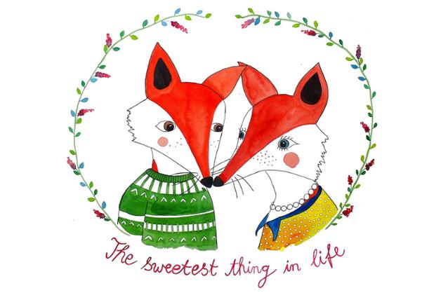 Illustrationen von Frau Ottilie