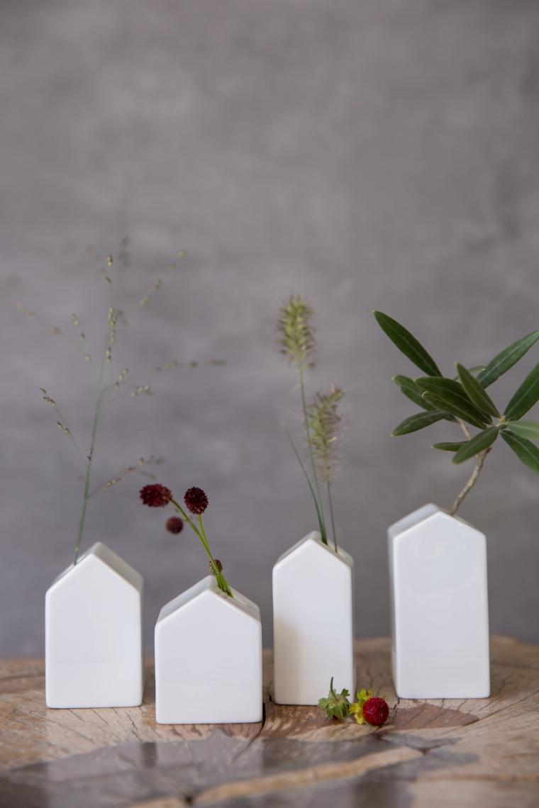 Vase Gartenhäuschen