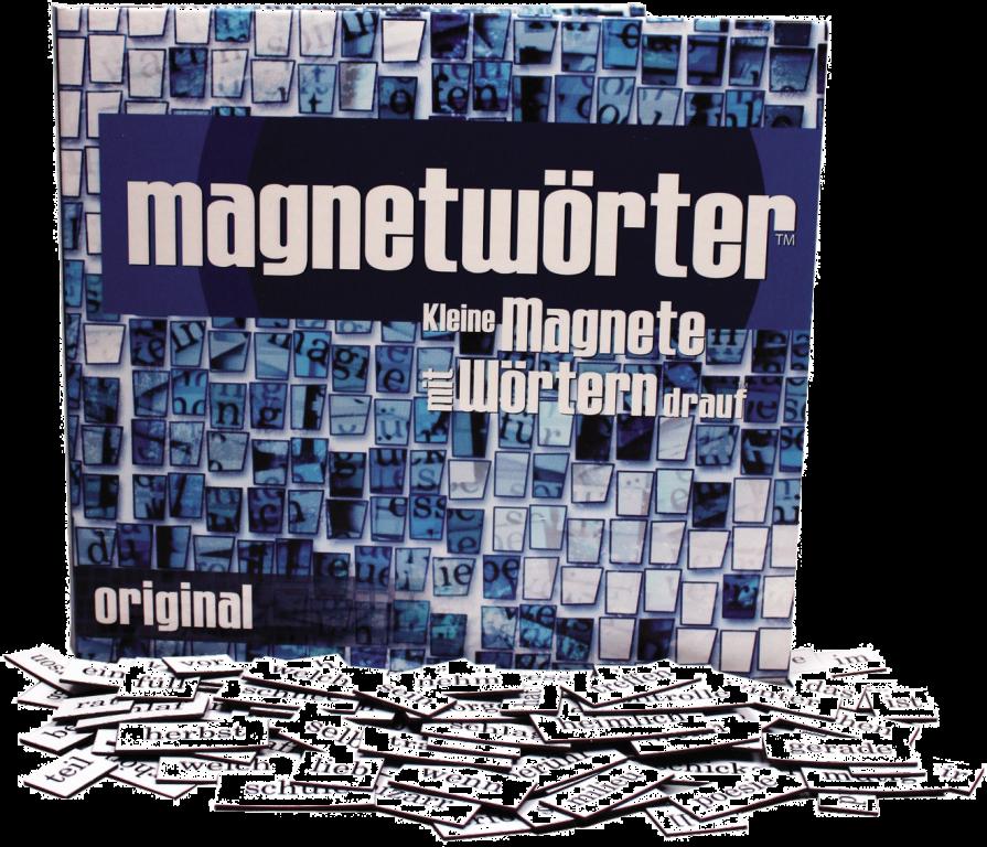 Magnetwörter Original von Kylskapspoesi