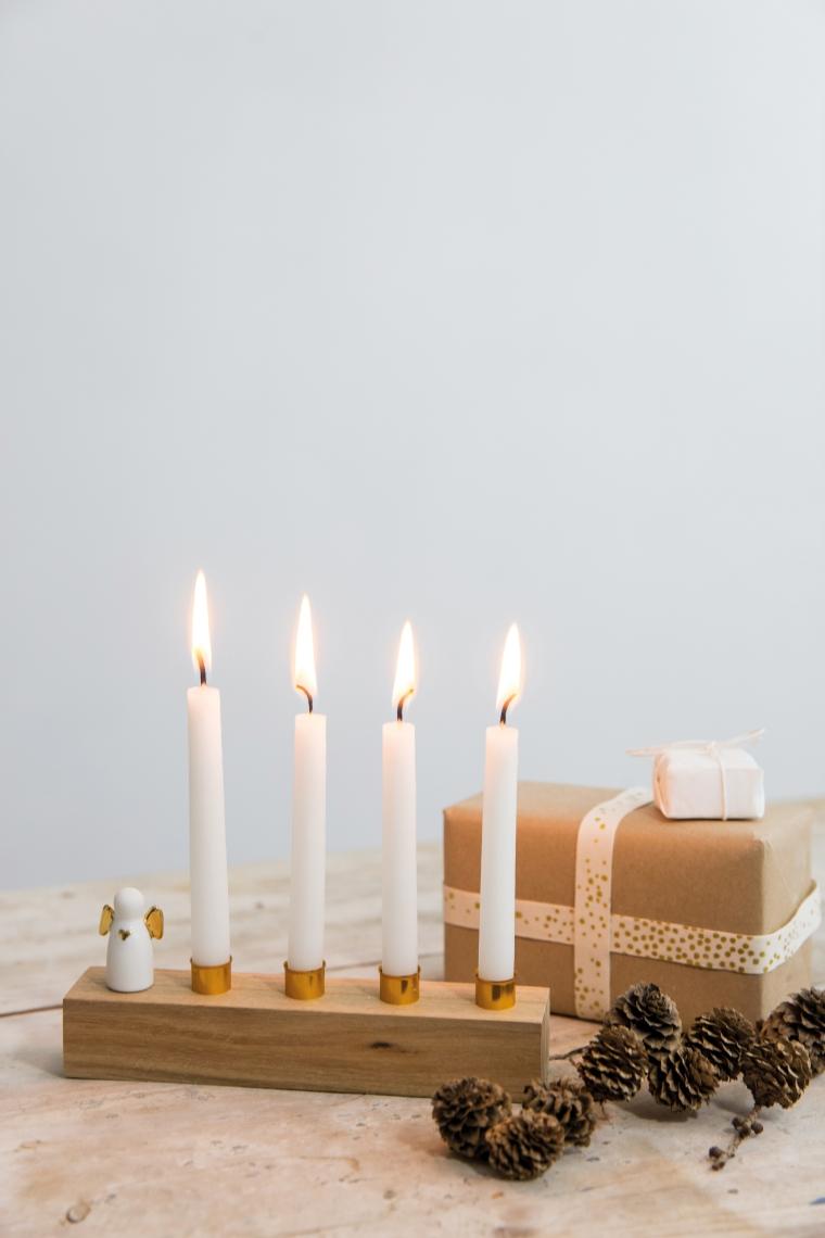 Engel mit Kerzen