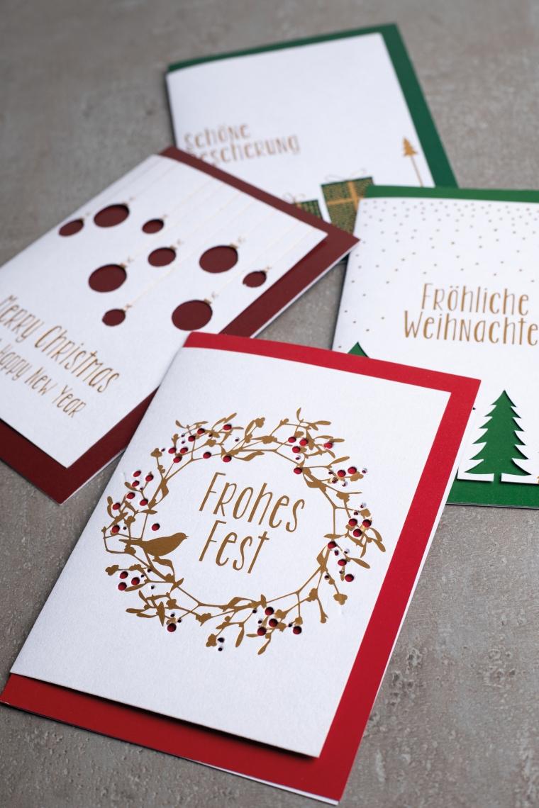 Weihnachtskarten von Räder 1