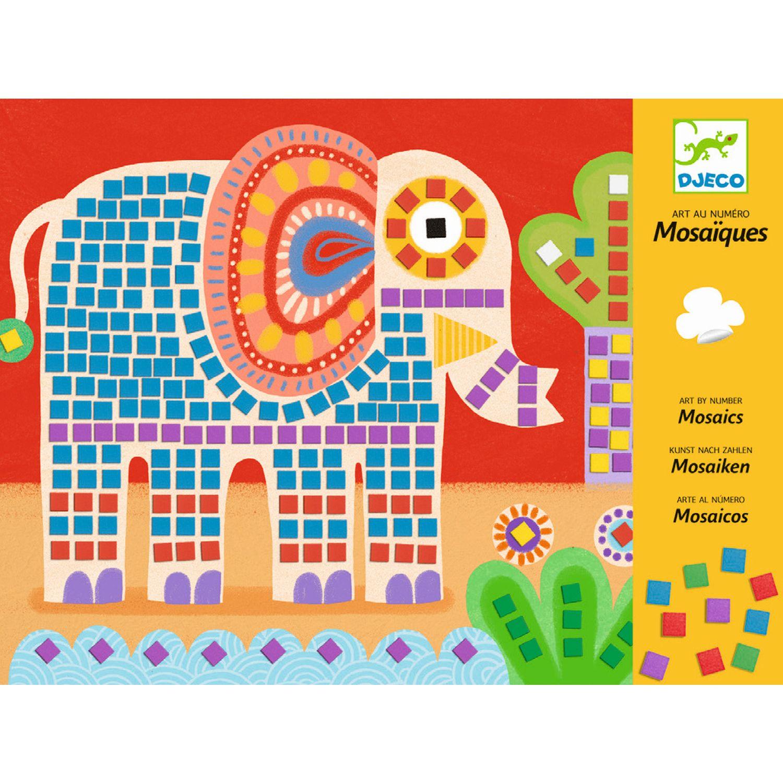 Spiele von Djeco, Mosaikbild